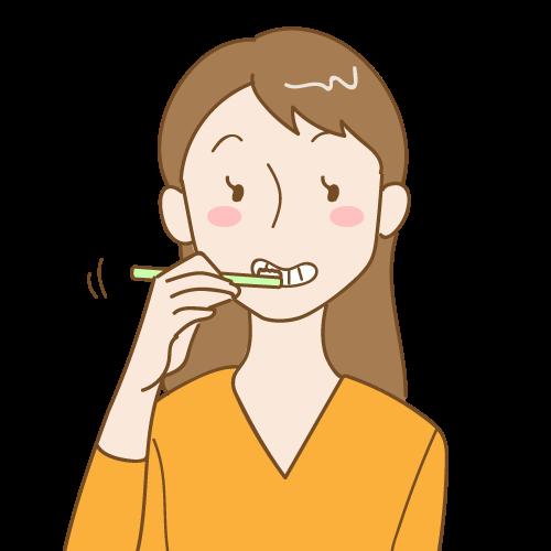 歯磨きの力が強すぎる、ハブラシが硬すぎる